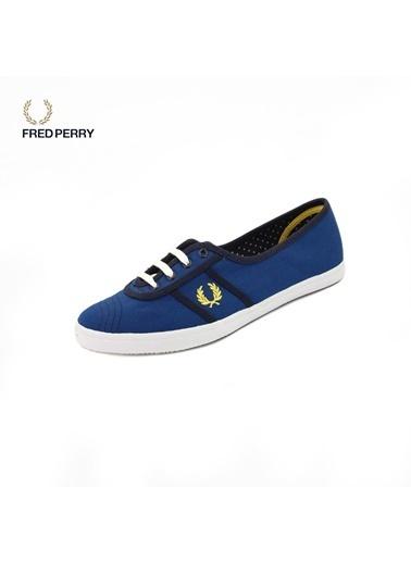 Fred Perry 1Fprw2013004 Kadın Keten Sneaker Ayakkabı Sarı